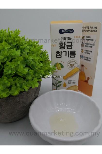 BeBecook Gold Sesame Oil  for 6+ months