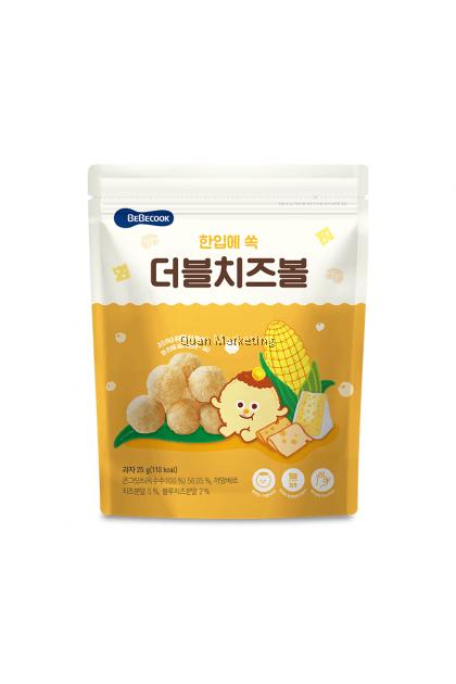 BeBecook - Corn Balls Cheese 12mth+
