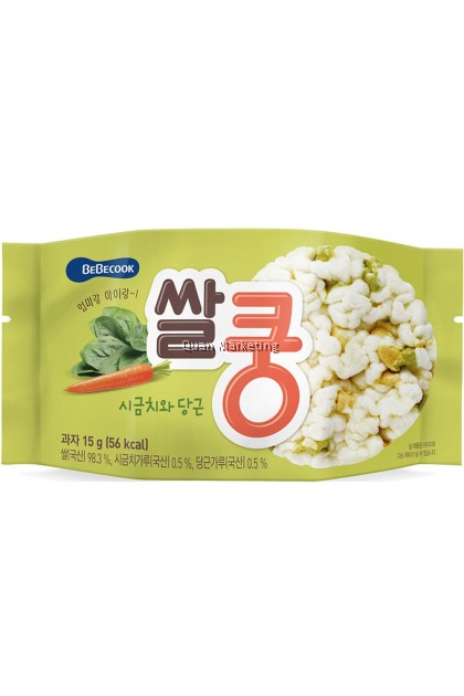 BeBecook Rice King Snack - Purple Potato & Sweet Pumpkin for 12+ months