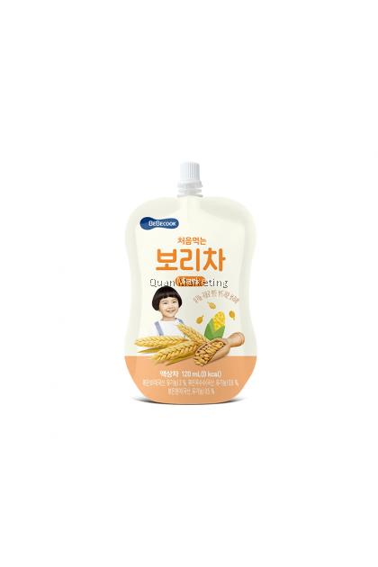 BeBecook Organic Roasted Barley Tea 120ml for 6+ months
