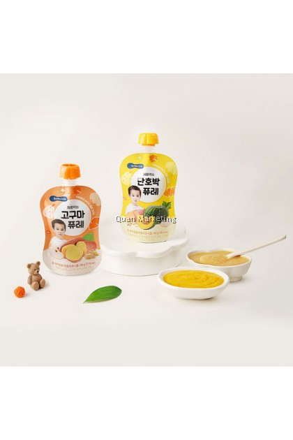 BeBecook - My First Yummy Puree (Pumpkin w Oatmeal) 80g for 6 months+